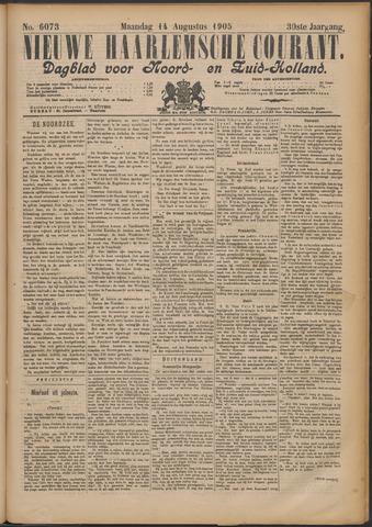 Nieuwe Haarlemsche Courant 1905-08-14