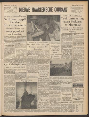 Nieuwe Haarlemsche Courant 1958-01-09