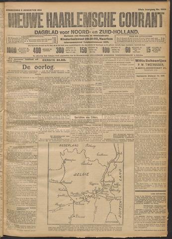Nieuwe Haarlemsche Courant 1914-08-06