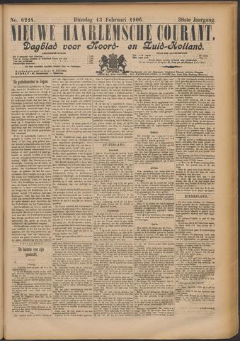 Nieuwe Haarlemsche Courant 1906-02-13