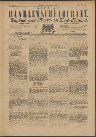 Nieuwe Haarlemsche Courant 1896-12-05