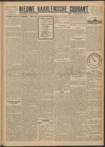 Nieuwe Haarlemsche Courant 1923-03-01