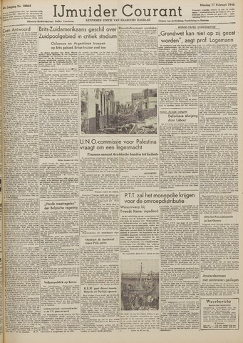 IJmuider Courant 1948-02-17