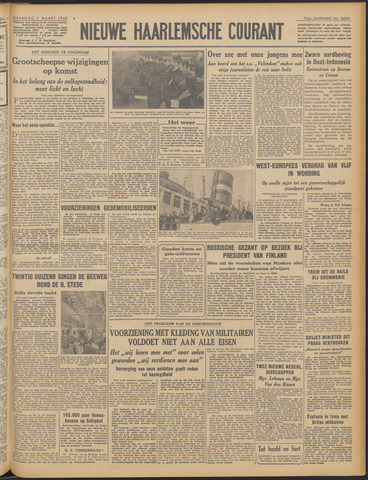 Nieuwe Haarlemsche Courant 1948-03-01