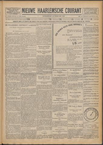 Nieuwe Haarlemsche Courant 1930-02-20
