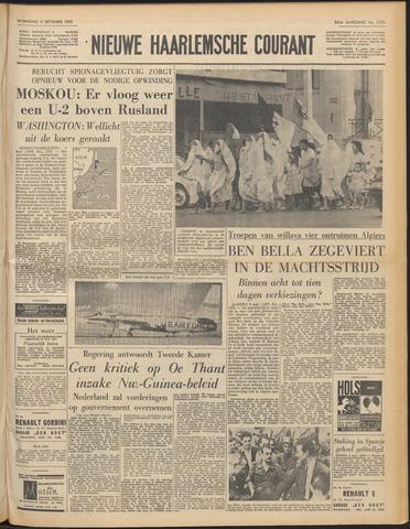 Nieuwe Haarlemsche Courant 1962-09-05