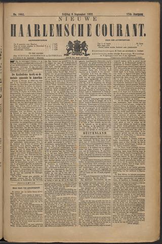 Nieuwe Haarlemsche Courant 1892-09-09