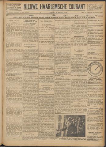 Nieuwe Haarlemsche Courant 1929-03-29