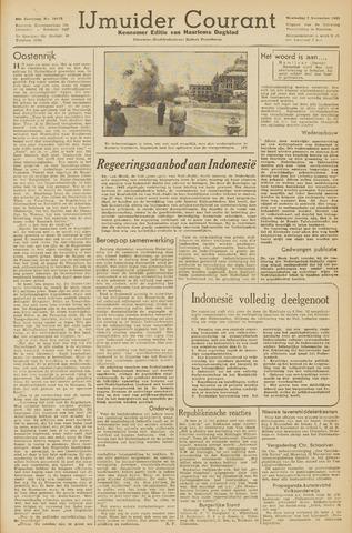 IJmuider Courant 1945-11-07