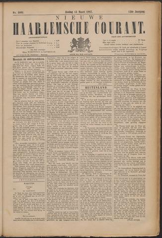 Nieuwe Haarlemsche Courant 1887-03-13