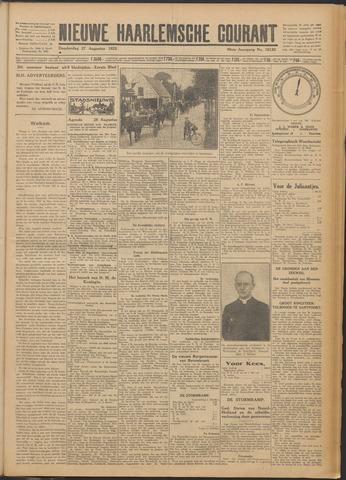Nieuwe Haarlemsche Courant 1925-08-27