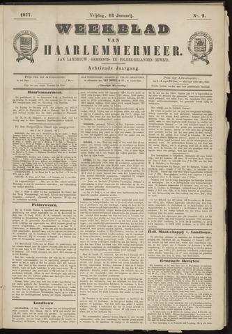 Weekblad van Haarlemmermeer 1877-01-12