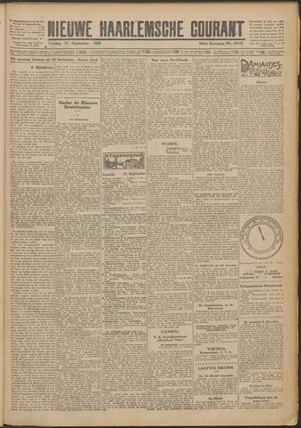 Nieuwe Haarlemsche Courant 1925-09-11