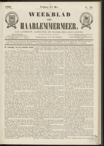 Weekblad van Haarlemmermeer 1860-05-11