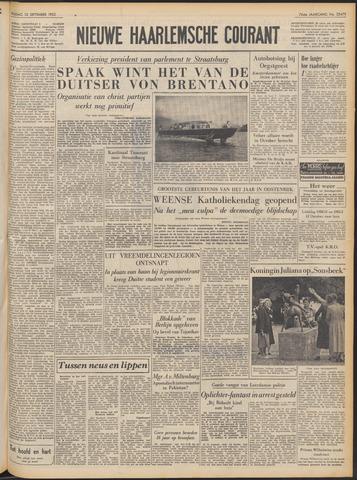 Nieuwe Haarlemsche Courant 1952-09-12