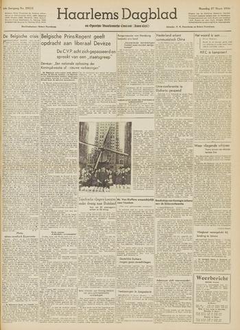 Haarlem's Dagblad 1950-03-27