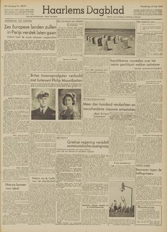 Haarlem's Dagblad 1947-07-10