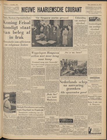 Nieuwe Haarlemsche Courant 1956-12-03