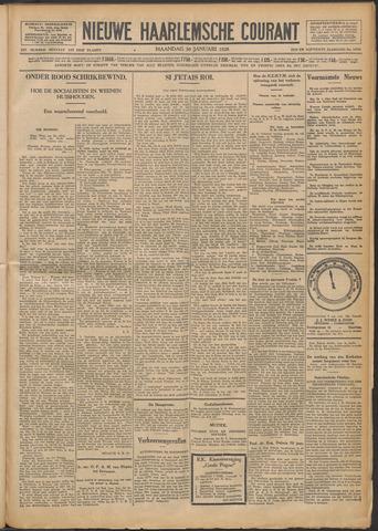 Nieuwe Haarlemsche Courant 1928-01-30
