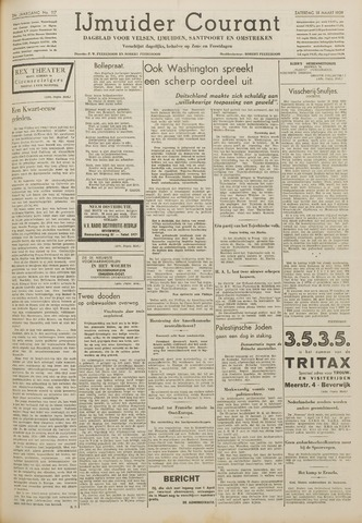 IJmuider Courant 1939-03-18