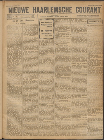 Nieuwe Haarlemsche Courant 1921-05-12