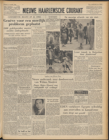 Nieuwe Haarlemsche Courant 1954-03-23