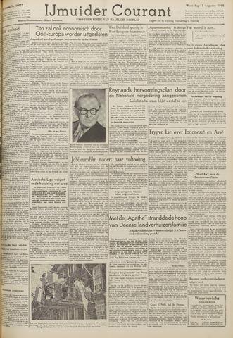 IJmuider Courant 1948-08-11