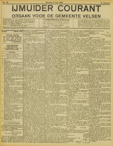 IJmuider Courant 1922-06-03