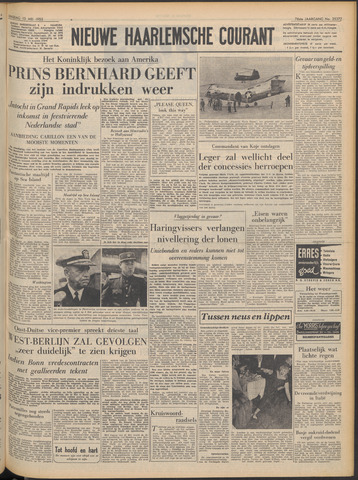 Nieuwe Haarlemsche Courant 1952-05-13