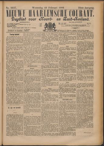 Nieuwe Haarlemsche Courant 1906-02-28