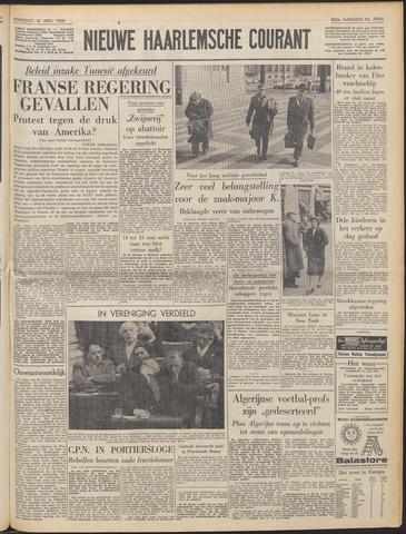 Nieuwe Haarlemsche Courant 1958-04-16