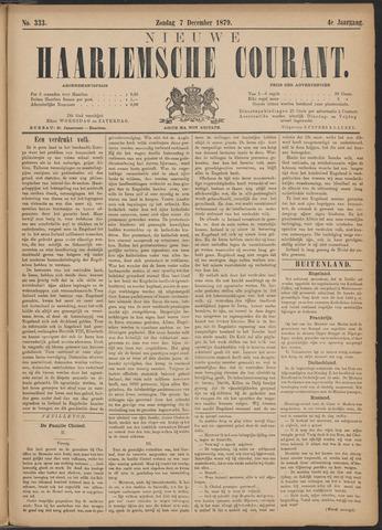 Nieuwe Haarlemsche Courant 1879-12-07