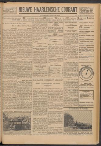 Nieuwe Haarlemsche Courant 1932-01-27