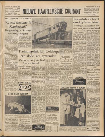 Nieuwe Haarlemsche Courant 1961-02-23