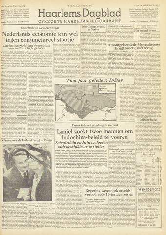 Haarlem's Dagblad 1954-06-02