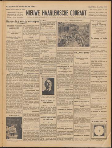 Nieuwe Haarlemsche Courant 1933-04-03