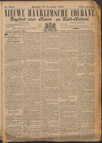 Nieuwe Haarlemsche Courant 1898-11-28