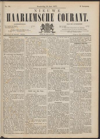 Nieuwe Haarlemsche Courant 1877-06-14