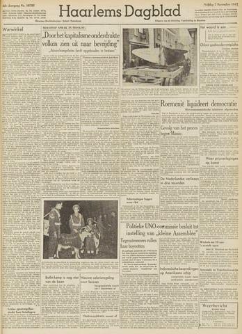 Haarlem's Dagblad 1947-11-07