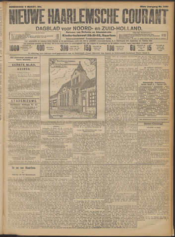 Nieuwe Haarlemsche Courant 1911-03-09