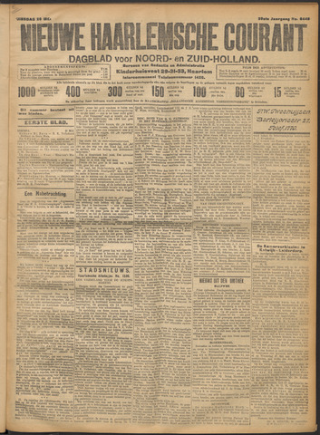 Nieuwe Haarlemsche Courant 1914-05-26