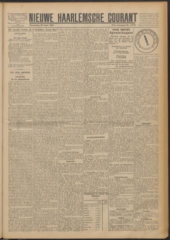 Nieuwe Haarlemsche Courant 1924-04-10