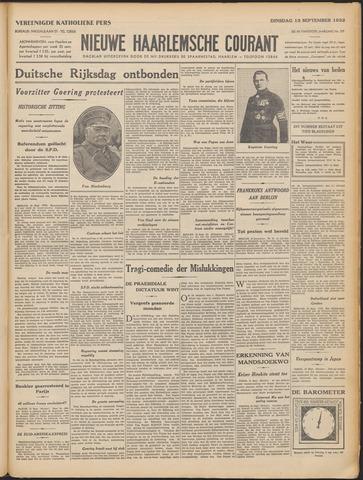 Nieuwe Haarlemsche Courant 1932-09-13