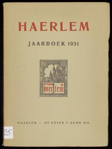 Jaarverslagen en Jaarboeken Vereniging Haerlem 1951