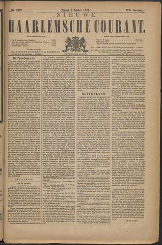 Nieuwe Haarlemsche Courant 1892-10-02