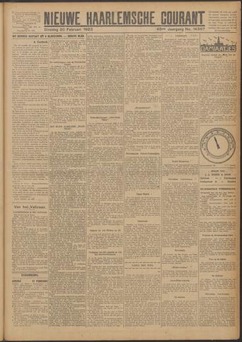 Nieuwe Haarlemsche Courant 1923-02-20