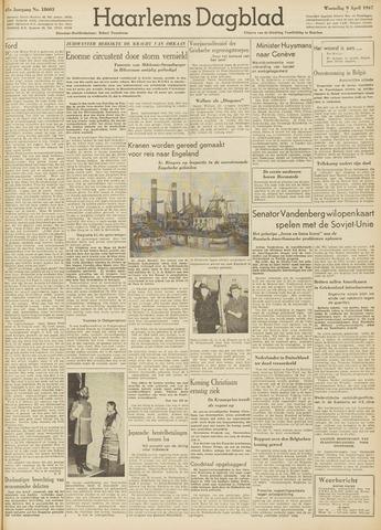 Haarlem's Dagblad 1947-04-09