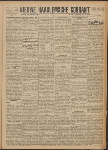 Nieuwe Haarlemsche Courant 1923-01-30
