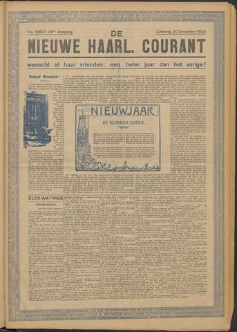 Nieuwe Haarlemsche Courant 1922-12-30