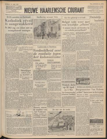 Nieuwe Haarlemsche Courant 1955-04-23